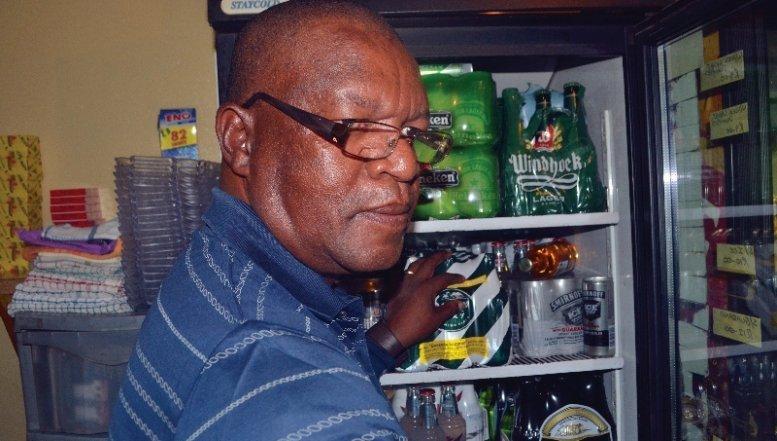 Owner of Ekhaya Lo Music in Tembisa, Tlama-Tlama Section, Mlungisi Majola.
