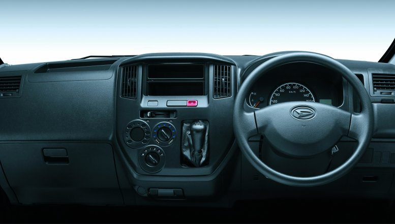 The interior of Daihatsu Gran Max