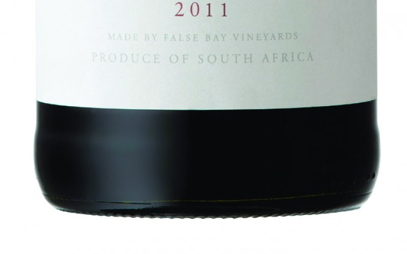 False Bay Shiraz 2011.