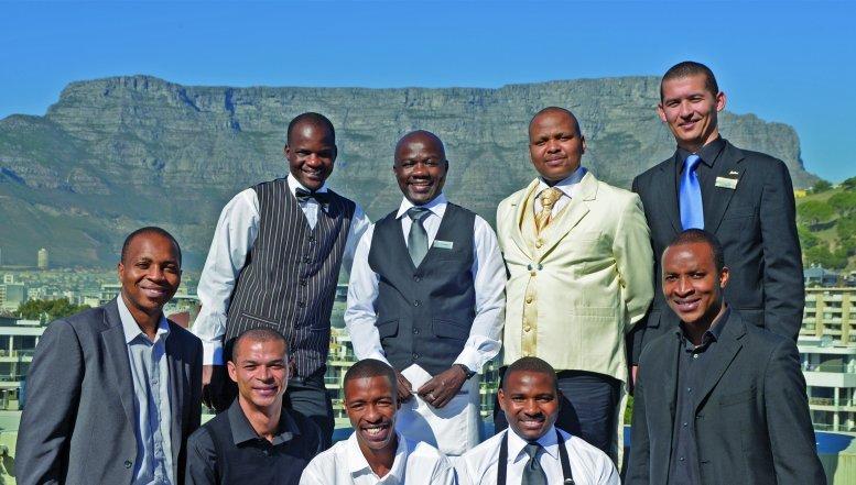 Inter Hotel candidates Brian Mahlangu, Francisco Domingos, Ayanda Mkune, Heinrich La Meyer, Farai Magwada, Evan Sampson, Jeffrey Dalingozi, Marlvin Gwese and Tinahse Nyamudoka