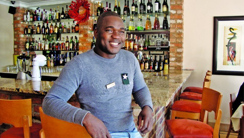 Manager at Restaurant Vilikazi, Profile Mohale.