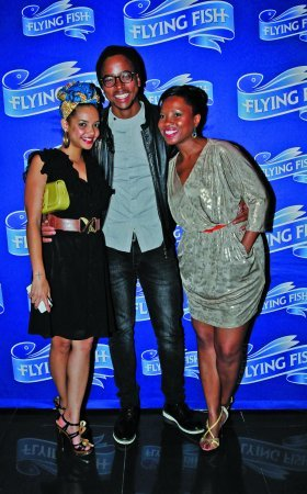Eda Rose, Maps Maponyane and Qhawe Mdikane.