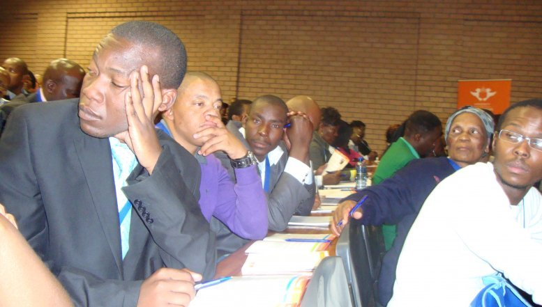 Soweto entrepreneurs attending the UJ's Conference on Small Business Development.