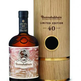 Bunnahabhain 40 year old.