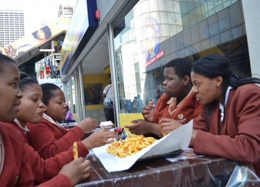 Approximately one child in five South African children is overweight and this can expose them to a number of health risks as they grow older..JPG