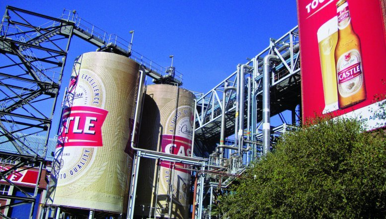 SAB brewery in Alrode
