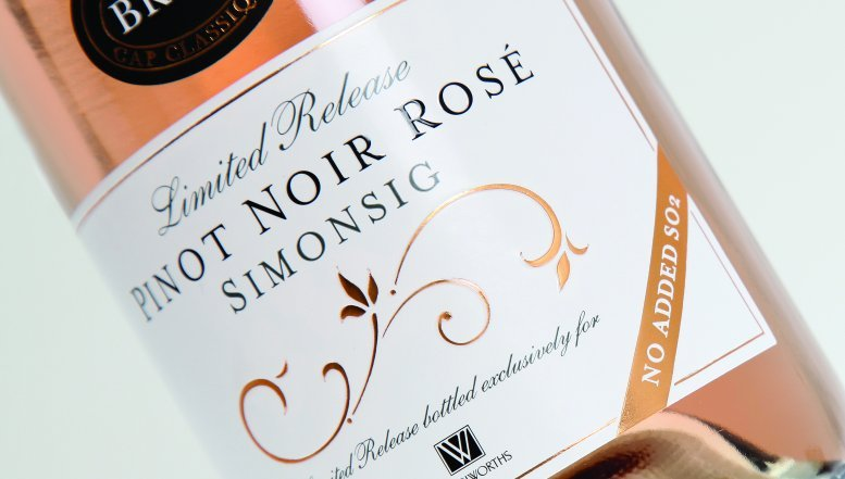 Woolworths Limited Release Pinot Noir Brut Rosé 2011.