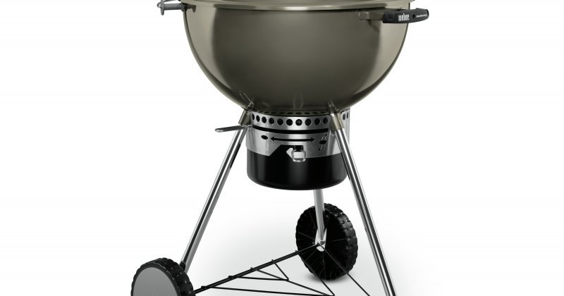 Weber MasterTouch Charcoal Grill with Gourmet Grate R5399
