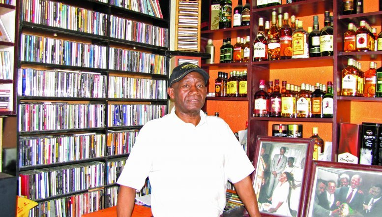 Owner of Jazzie's Inn, Boysie Marokane.