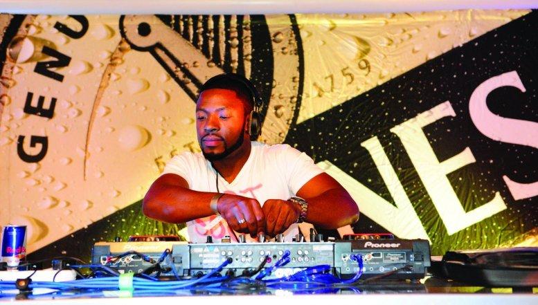 DJ Soul T entertains the crowd.