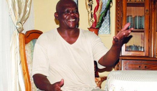 Tolbart Ngobese, chairman of Orlando East Jazz Stokvel in Soweto..JPG
