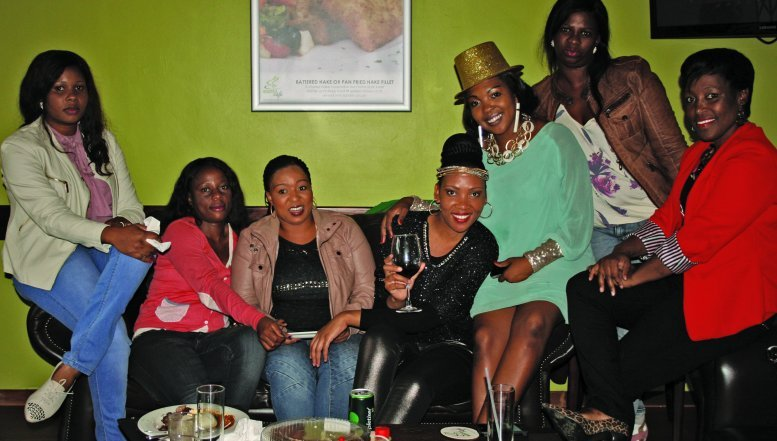 Stokvel member hosting a party at Brima Cafe.
