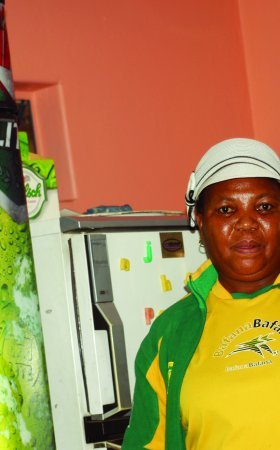 Jessie Sitsila, owner of Jessie's Tavern in Spruitview