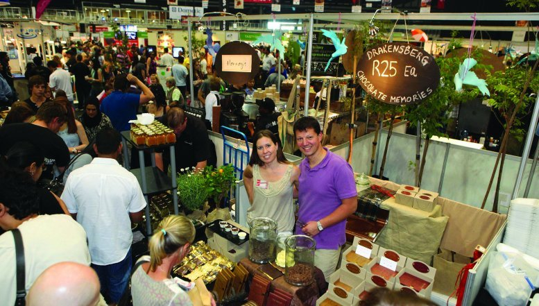 This year's Good Food & Wine Show will attract visitors to club bar or laid back Jazz Lounge to a shebeen or bikini bar,at the newly launched scintillating South African Bar.