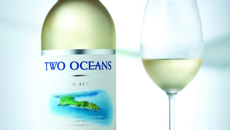 2012 Two Oceans Pinot Grigio.