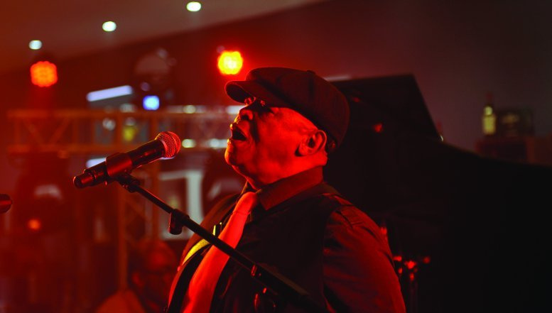 Bra Hugh Masekela performs at Glenlivent Legacy Live concert in Sandton.