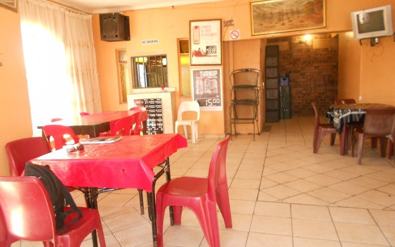The interior of Stadig Tavern