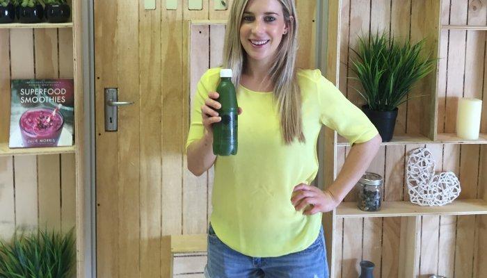 Samantha Eldridge of Bliss Juicery
