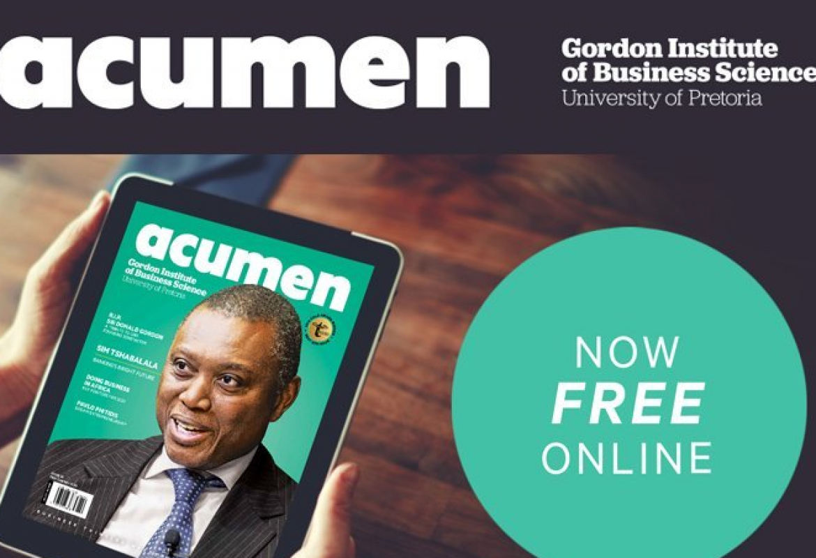 Big Digital Boost for Acumen
