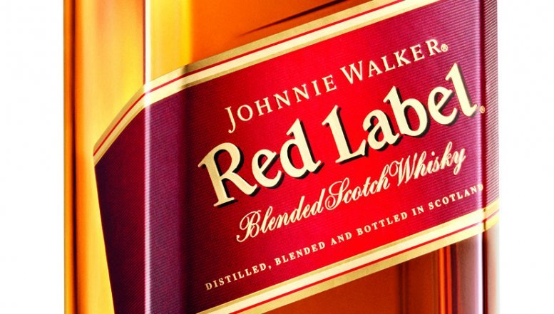 Johnnie Walker Red Label.