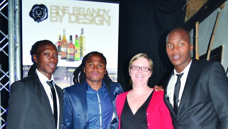 Reneilwe Letsolonyane, Siphiwe Tshabalala, Caryl Kolk and Mougan Goud.