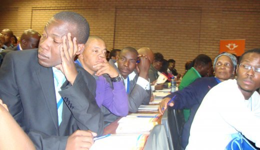Soweto entrepreneurs attending the UJ's Conference on Small Business Development.JPG