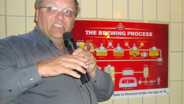 SAB Trade Brewer Anton Erasmus says beer derives its goodness from natural ingredients and that include water, barely, hops, maize and yeast