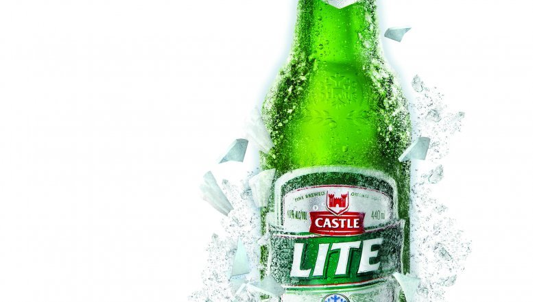 Castle Lite's Marketing Capitalises on the Beer's Uniquely Refreshing Taste.