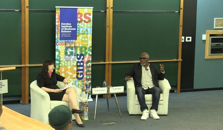 John Kani at GIBS