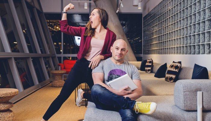 Brad and Lisa
