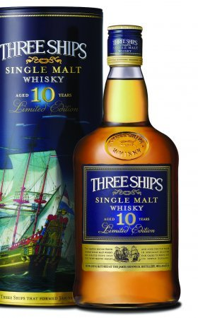 Three ships 10-Year Old Single Malt Whisky