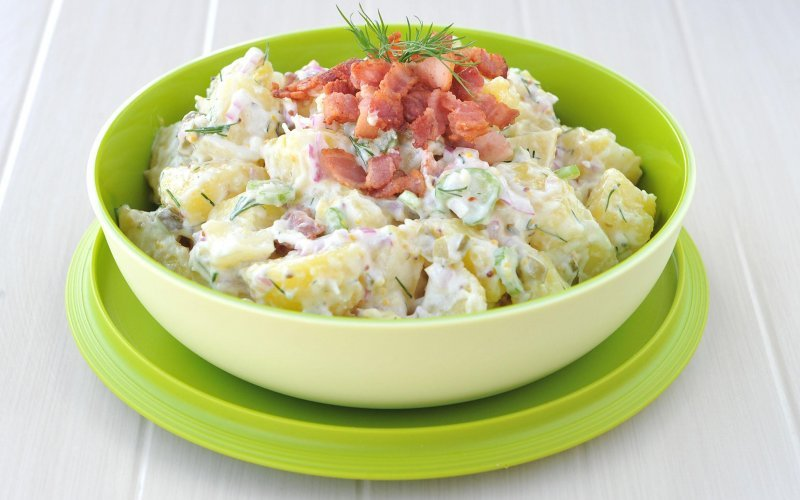 Best-ever potato salad