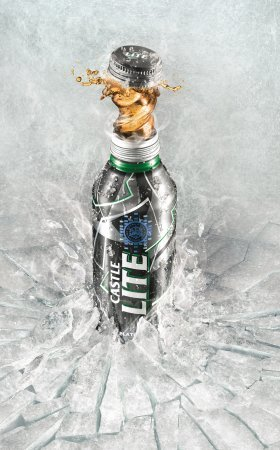 The new Castle Lite Re-Sealable Platinum Edition