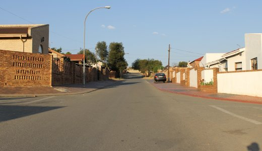 This street has been nicknamed 'Millionaire Street' because of the upmarket properties that line up the street of this Eastbank section of Alexandra..JPG