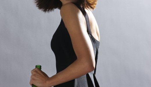 Actres and model, Olga Kurylenko (Camille) in Heineken ads related to Quantum of Solace..jpg