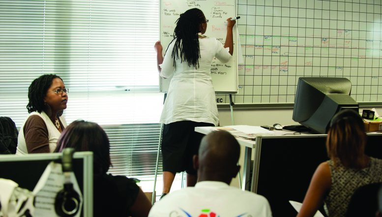 The University of Stellenbosch launches Small Business Academy for township business owners.