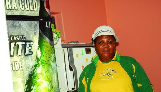 Jessie Sitsila, owner of Jessie's Tavern in Spruitview.JPG